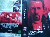 25 Stunden ... Edward Norton, Rosario Dawson ... VHS