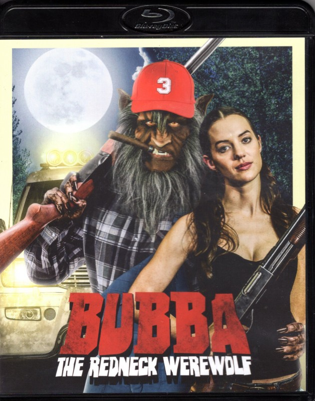 BUBBA THE REDNECK WEREWOLF Blu-ray . Splatter Spass