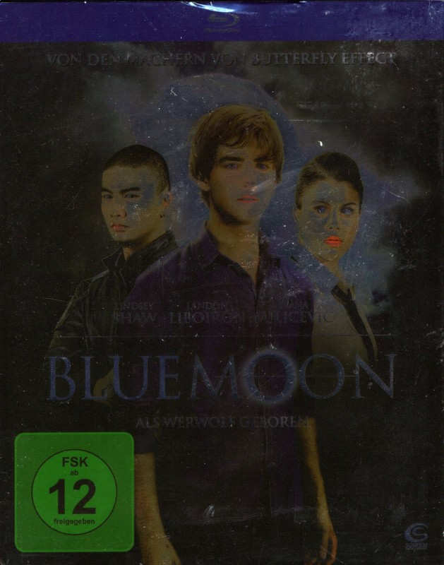BLUE MOON Blu-ray - Werwolf Fantasy Romantik Horror
