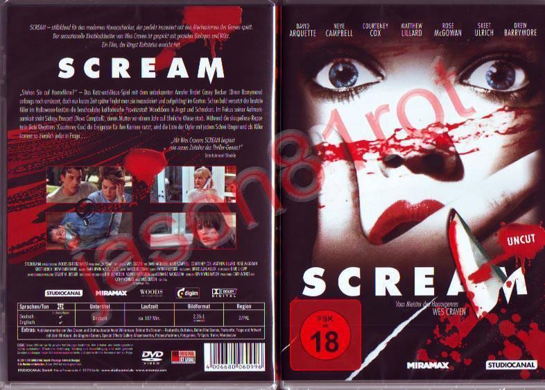 Scream - Uncut / DVD NEU OVP - Ab 50,00 E Versandfrei