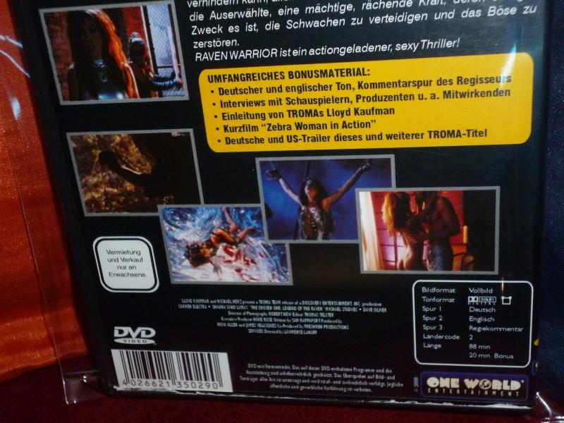 Raven Warrior - Die Auserwählte (1998) Troma Platinum Edit.