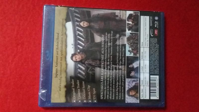 Tajomaru - Räuber und Samurai  - Blu Ray - OVP