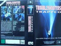 Troubleshooters Trapped ... Kris Kristofferson  ... VHS