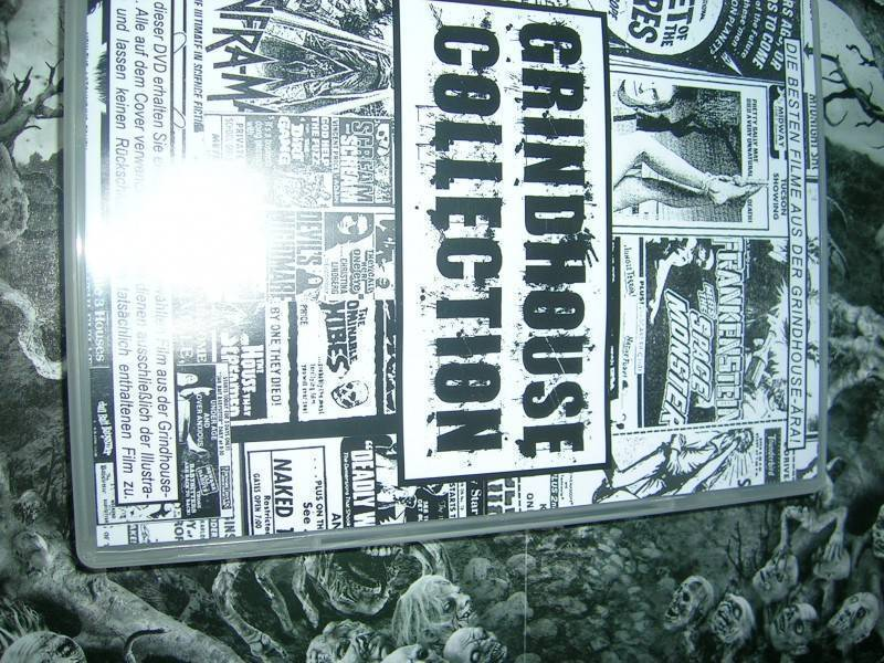 GRINDHOUSE XXX COLLECTION UNCUT DVD EDITION NEU