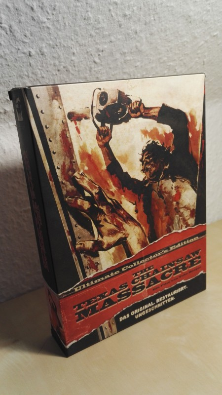 Texas Chainsaw Massacre Ultimate Collectors Edition Digipack