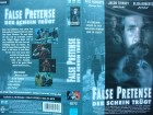 False Pretense - Der Schein trügt ... Eric Roberts  ... VHS