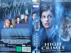 High Crimes - Im Netz der Lügen ... Ashley Judd  ... VHS
