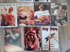 15 Horror Fanzines - 9 x Gory News  (Nr. 1) - Gore Gothic