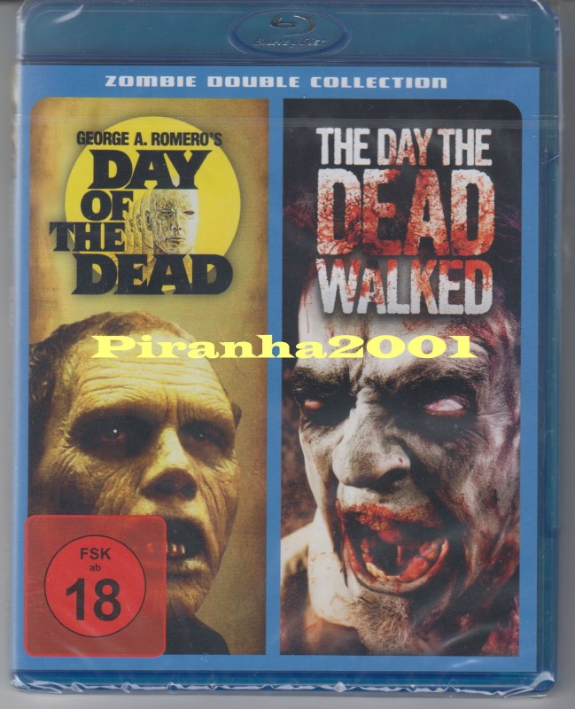 Zombie 2 - Day of the Dead + The Day the Dead Walked - Krass
