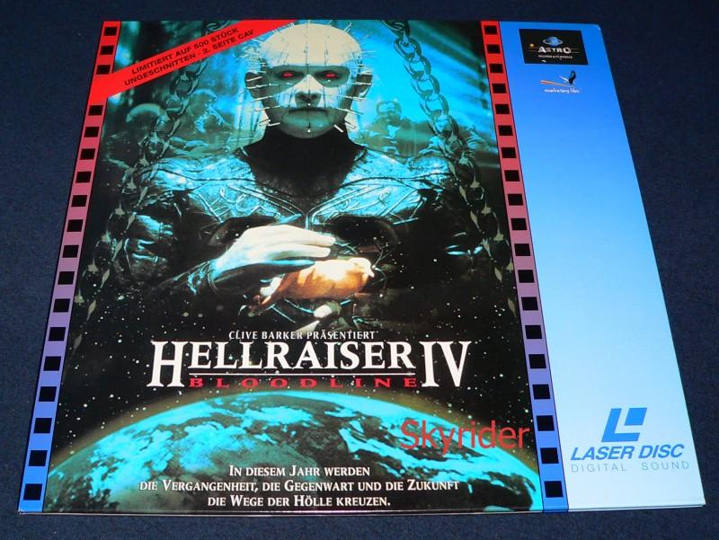 Hellraiser IV - Bloodline Laserdisc von Astro - Uncut -