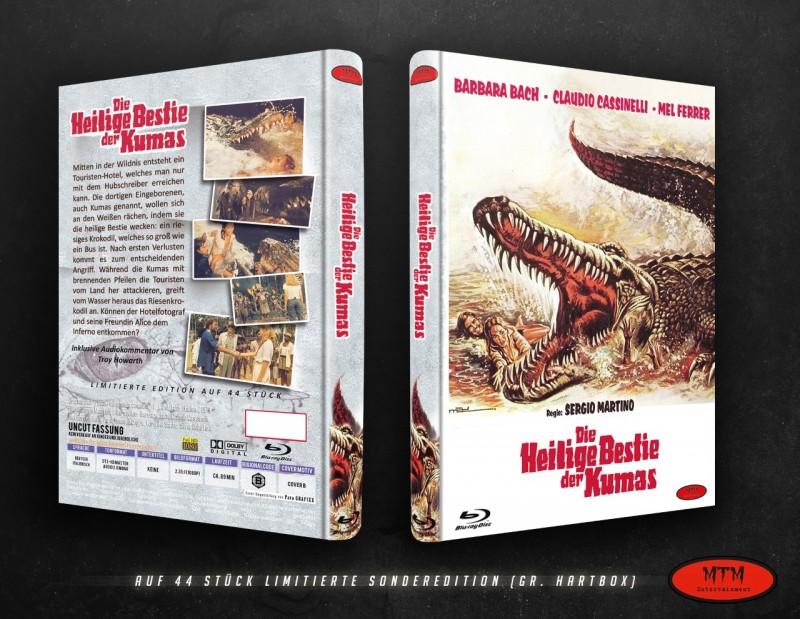 Fluss der Mörderkrokodile; große MTM-BluRay Hartbox, Cover B