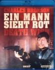 EIN MANN SIEHT ROT Blu-ray Cjarles Bronson DEATH WISH uncut