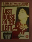 The Last House on the Left UNCUT 3 DVDs