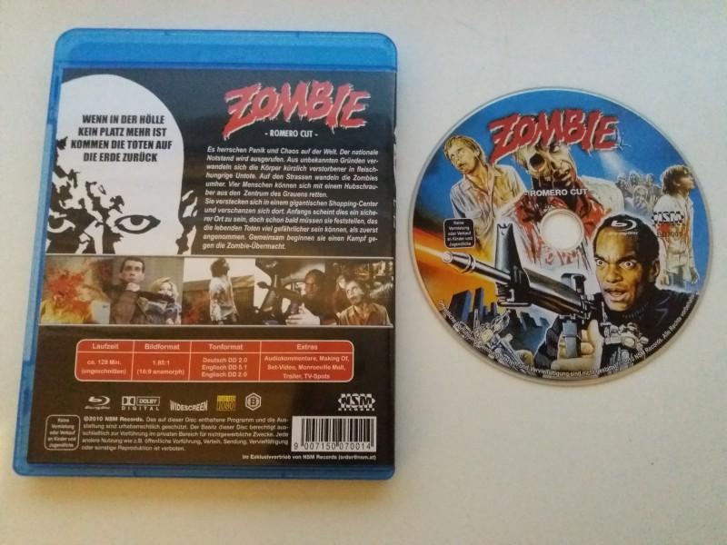 ZOMBIE - Das ORIGINAL von 1978 - Blu-ray ! UNCUT (ROMERO) !