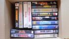 VHS Sammlung - 15 Filme - Thunder 1,2,3 - Zombie 3 - Eve 8 .
