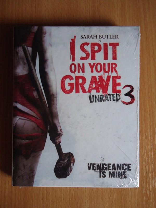 I Spit on your Grave 3 kl BD Hartbox Motiv B Limit 131 OVP