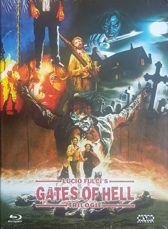 Gates of Hell Trilogie - Lucio Fulci - Mediabook A - NEU