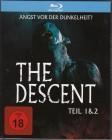 The Descent ( Teil 1+2 im Schuber ) Blu-rays ( NEU ) OOP