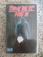 Friday the 13th Part III Freitag 3 (VHS) Video CIC engl.