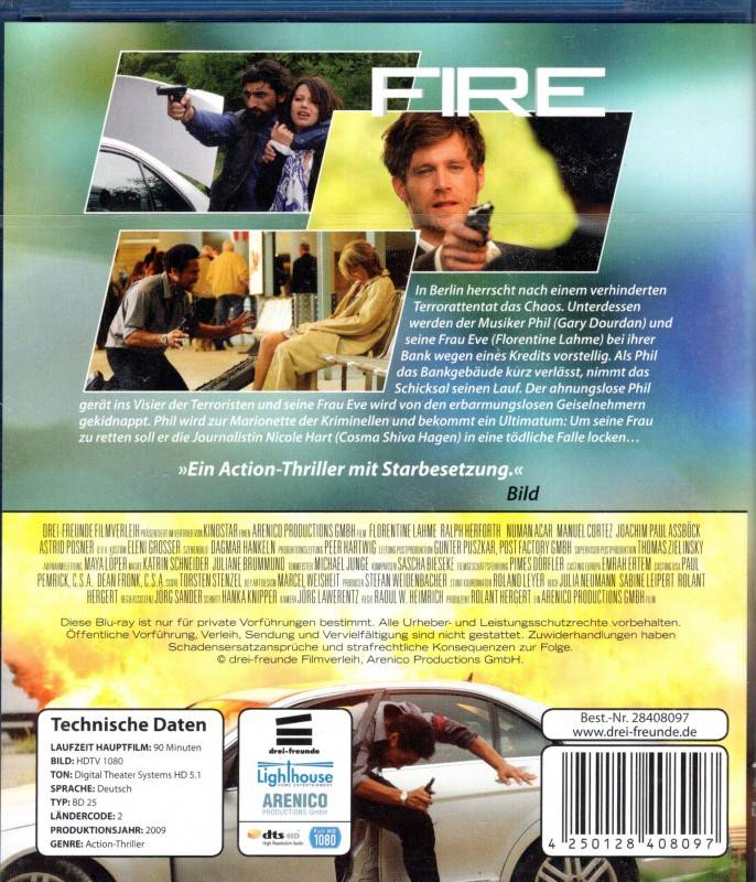 FIRE - WIE WEIT GEHST DU Blu-ray - Gary Dourdan Thriller