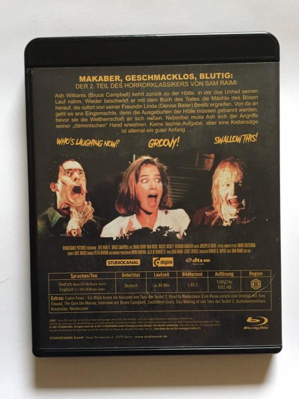 Tanz der Teufel 2 - Evil Dead 2 | Blu-ray | UNCUT