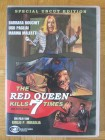 The Red Queen Kills Seven Times DVD, Giallo, Barbara Bouchet