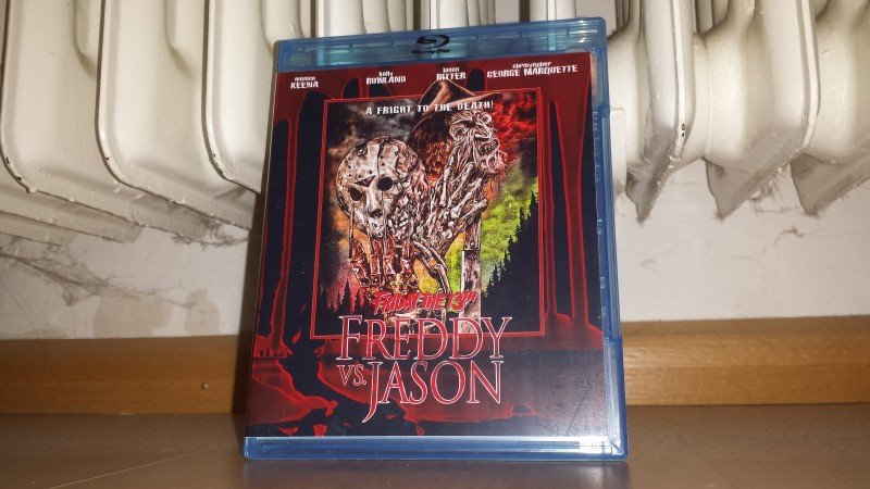 Freddy vs. Jason - UNCUT BD Amaray - Neu - no 84 XT NSM