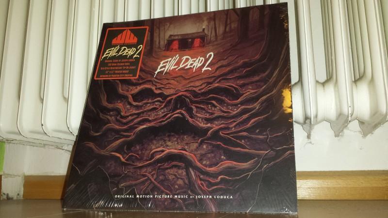 Evil Dead 2 - Soundtrack LP Vinyl - Neu/ovp - no 84 XT NSM