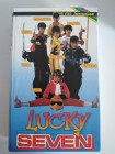Lucky Seven(Chiao Pei)Spitfire Video Großbox selten rar TOP