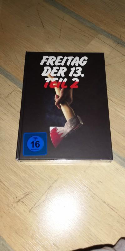Freitag der 13. Teil 2 Mediabook Blu-ray NEU&OVP 84 X-Rated