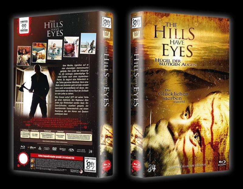 The Hills have Eyes 1 - gr DVD/BD Hartbox B Lim 99 OVP