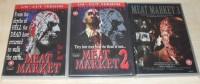 Meat Market 1,2 und 3 - Komplette Zombie Gore Trilogy UNCUT