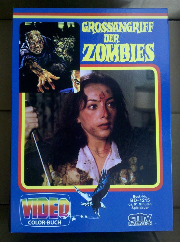 Grossangriff der Zombies!!!Videobook!!!Blu-ray!!!CMV/NSM!!!