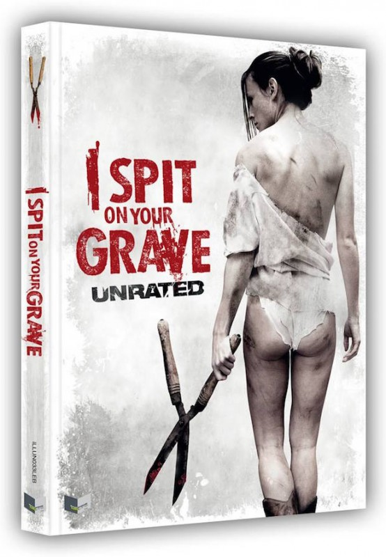 I spit on your Grave - DVD/BR Mediabook - Illusions - OVP