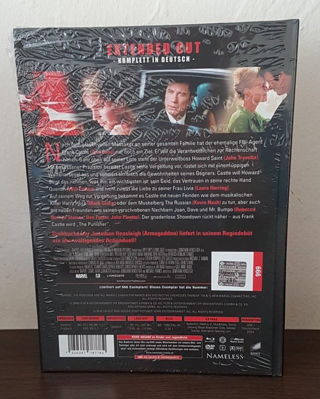 The Punisher - Lim.Mediabook Extended Cut - NEU&OVP*OOP RAR*