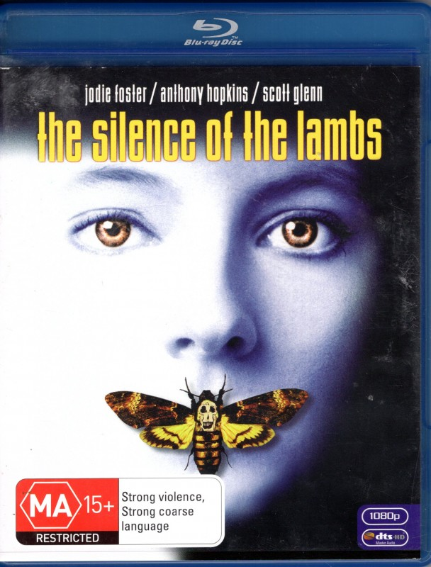 SILENCE OF THE LAMBS Blu-ray Import Das Schweigen der Lämmer