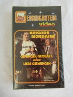 altes VHS video BRIGADE MONDAINE  sexploiter geiselgasteig