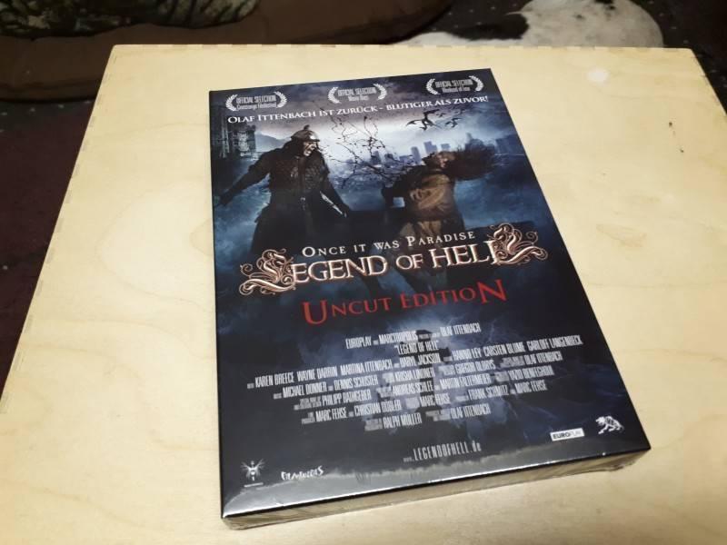 25 x Legend of Hell    Olaf Ittenbach