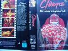 Clowns - Ihr Lachen bringt den Tod  ... VHS !!!