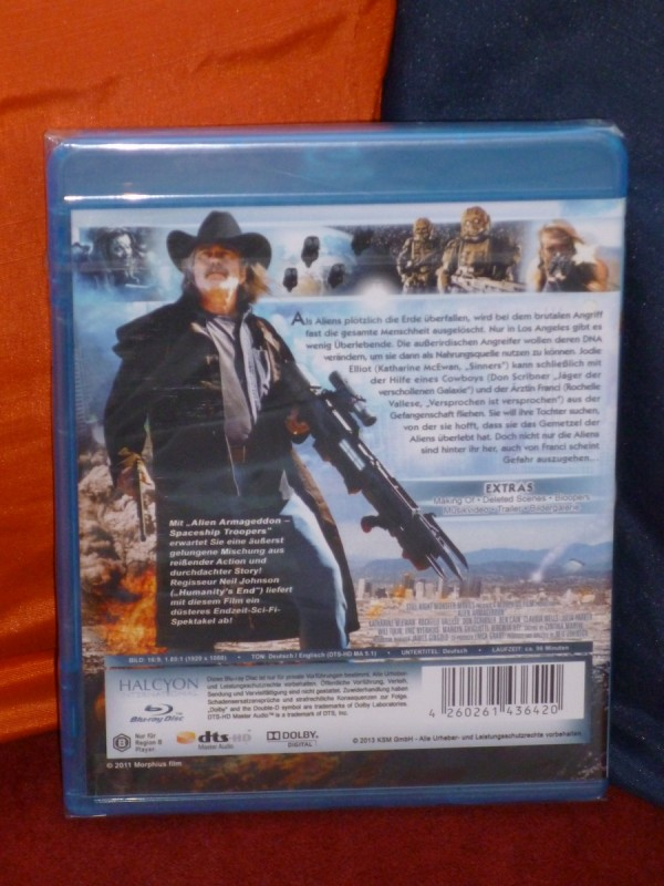 Alien Armageddon - Spaceship Troopers (2011) KSM BluRay OVP!
