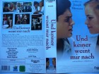 Und keiner weint mir nach... Nina Hoss, Peter Ketnath ..VHS