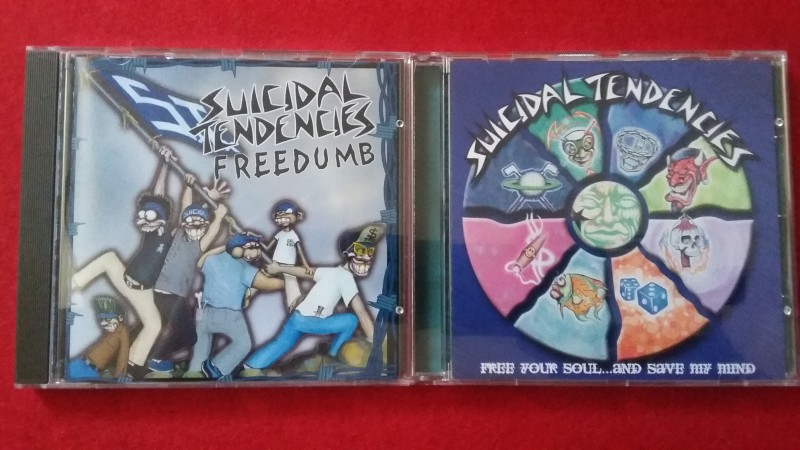 Suicidal Tendencies - 2 For 1 Value Box - Old School HC