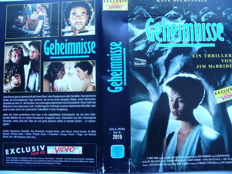 Geheimnisse ... Kate Beckinsale, Art Malik ...  VHS