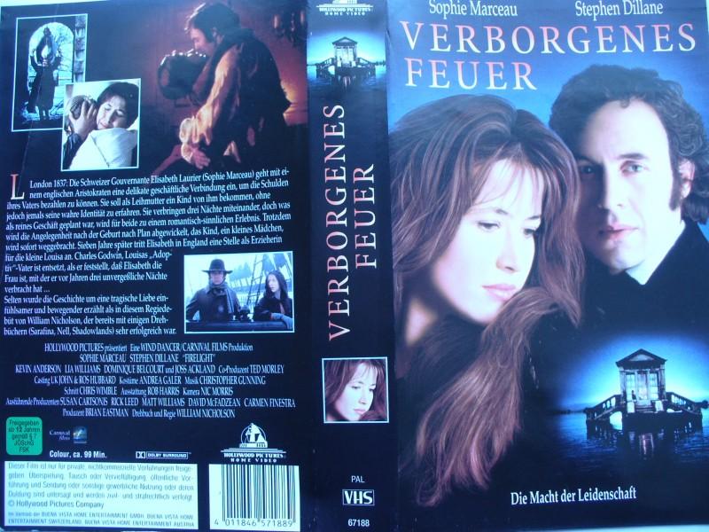 Verborgenes Feuer ...Sophie Marceau, Stephen Dillane ...VHS