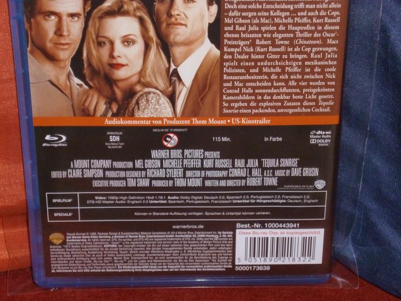 Tequila Sunrise (1988) Warner Home Video [Uncut BluRay]