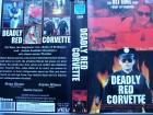 Deadly Red Corvette ... Brian Bloom, Alyssa Milano  ... VHS