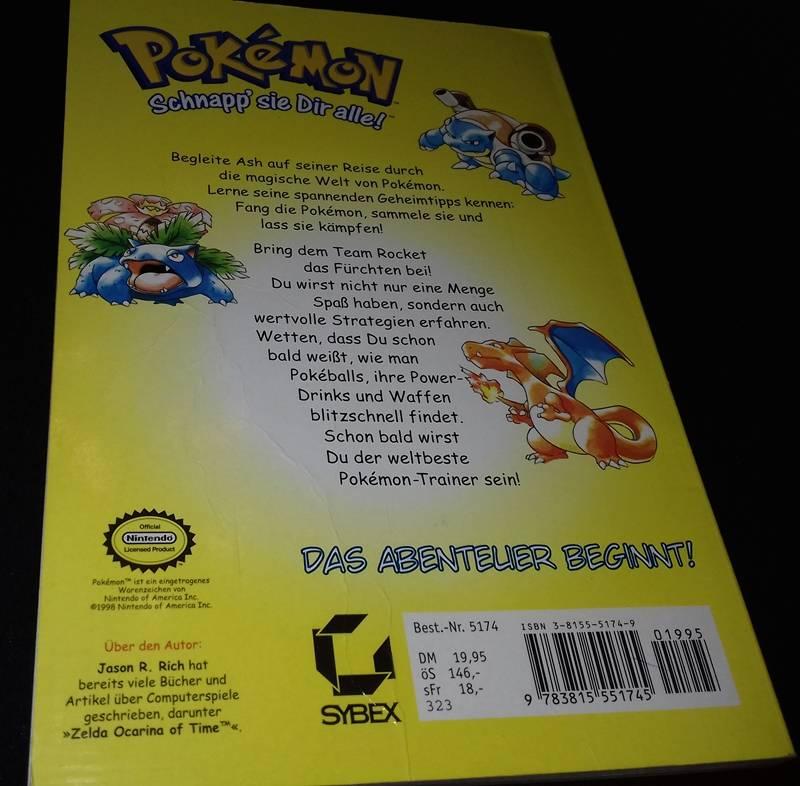 ♞BUCH - Pokémon - Spielbegleiter für Rot und Blau