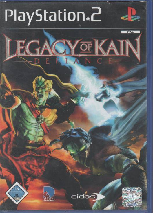 PS2 - Legacy of Kain - Defiance