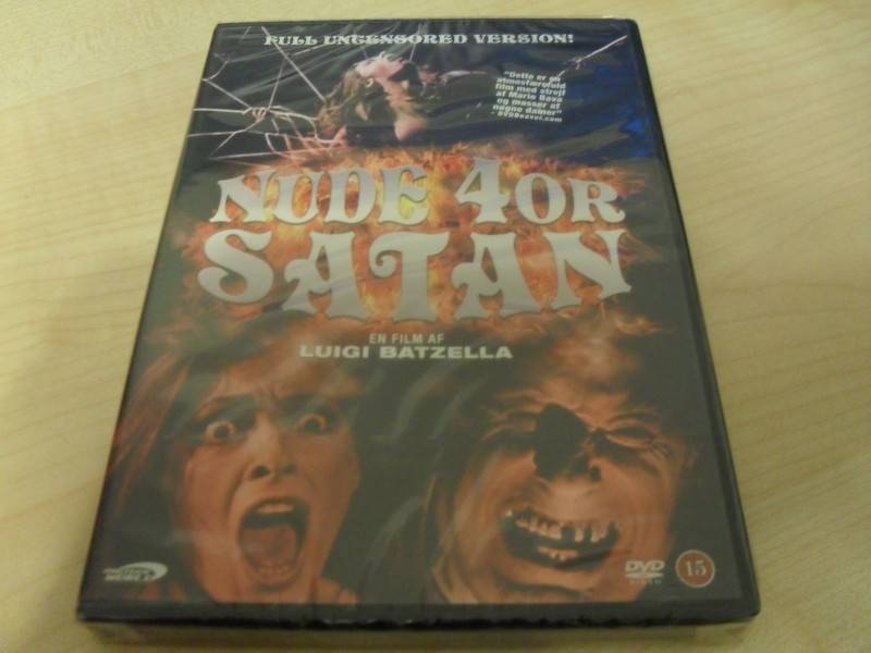 Nude 4or Satan - Full uncensored UNCUT DVD DK Luigi Batzella