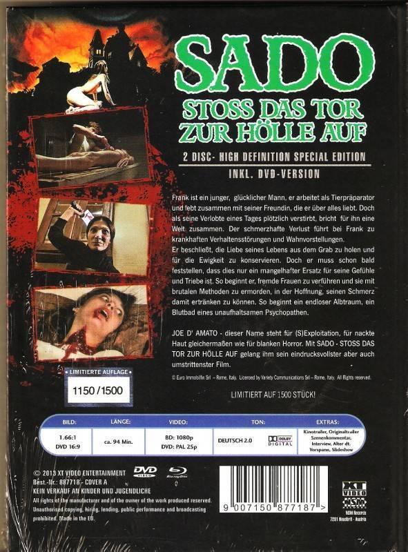 Sado XT Mediabook Cover A Limited Edition Ovp Uncut